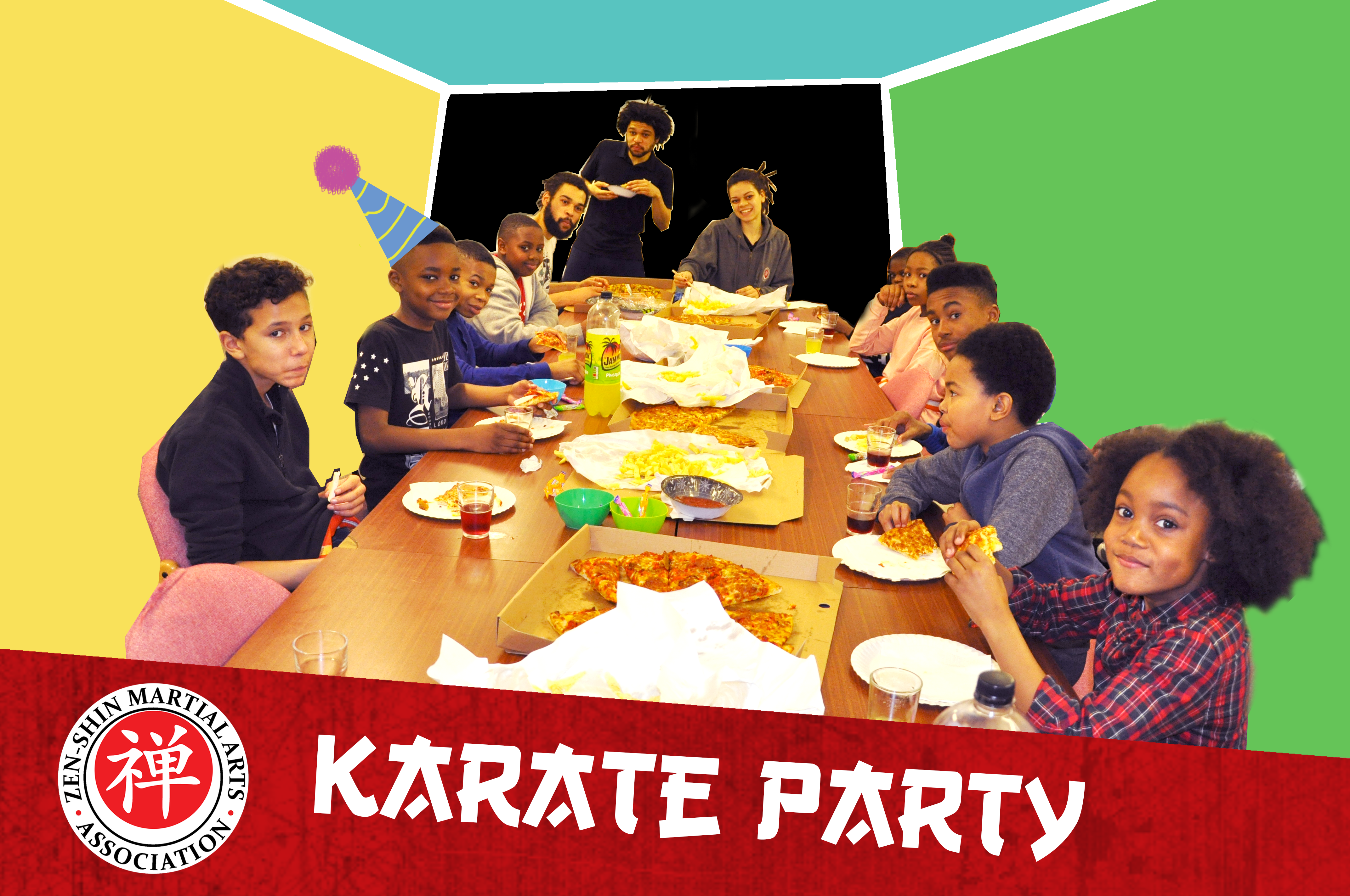 karate party